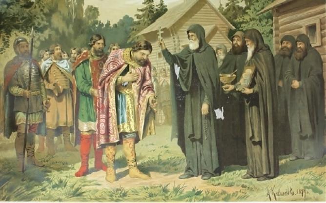 К 700 летию сергия радонежского картинки
